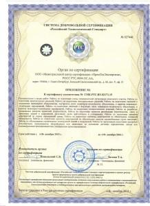 Приложение 1 к ISO 9001